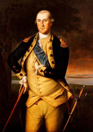 Peale, Charles Willson : George Washington 1776. Fine Art Print/Poster (5169)